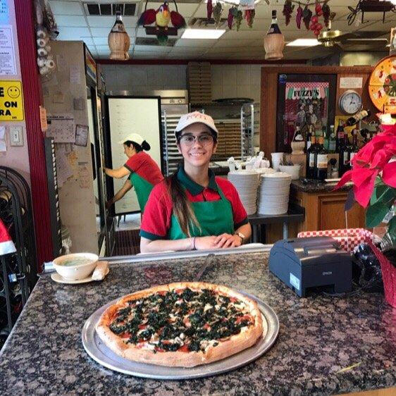 Fuzzy S Pizza Cafe Houston Tx