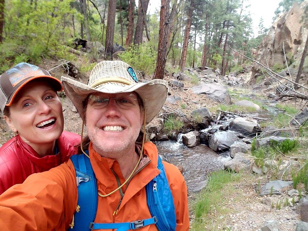 Happy hiker ruidoso