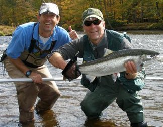 Fishing guide salmon river pulaski ny drift boat fishing for Salmon fishing pulaski ny