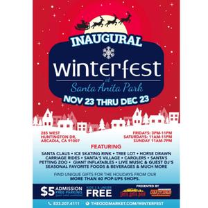 Winterfest at Santa Anita Park