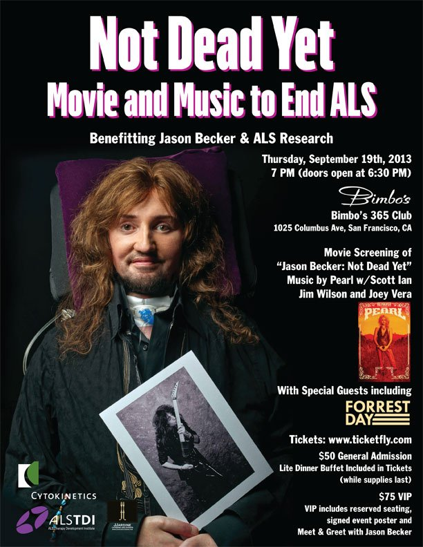 Join Jason Becker And Heavy Metal Dignitaries For Not Dead Yet