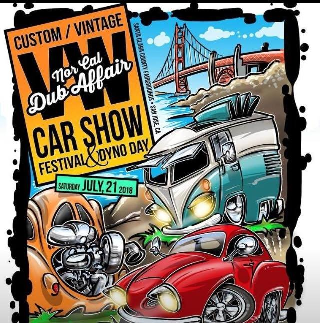 NorCal DubAffair VW Car Show In San Jose July San Jose - San jose car show