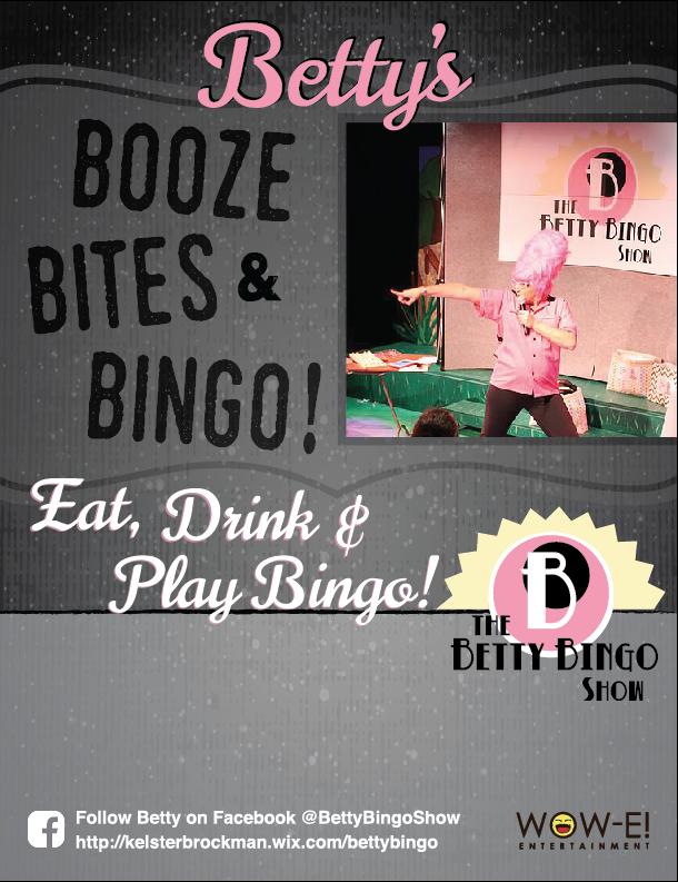 Betty Bingo s Booze Bites   Bingo Show ae270f411