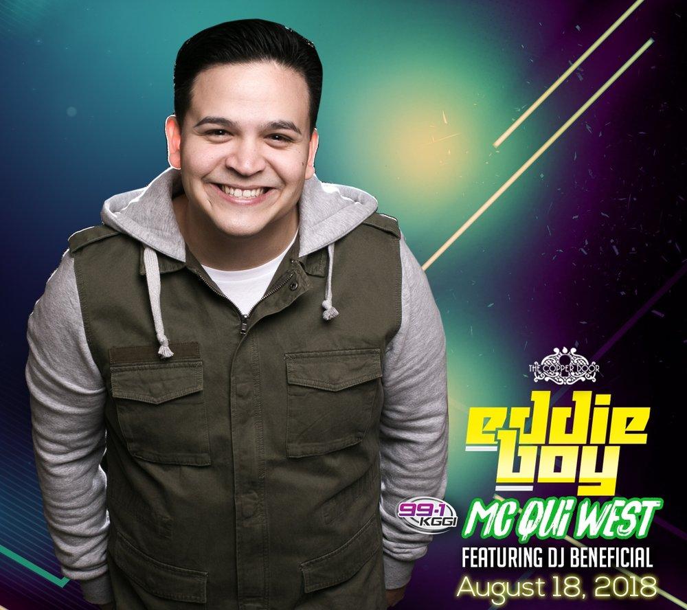 Saturday Night Party With DJ Eddie Boy And 991kggi MC Qui West Santa Ana