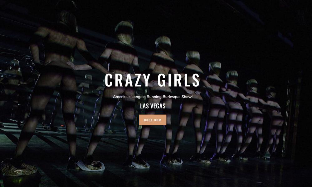 crazy girls show