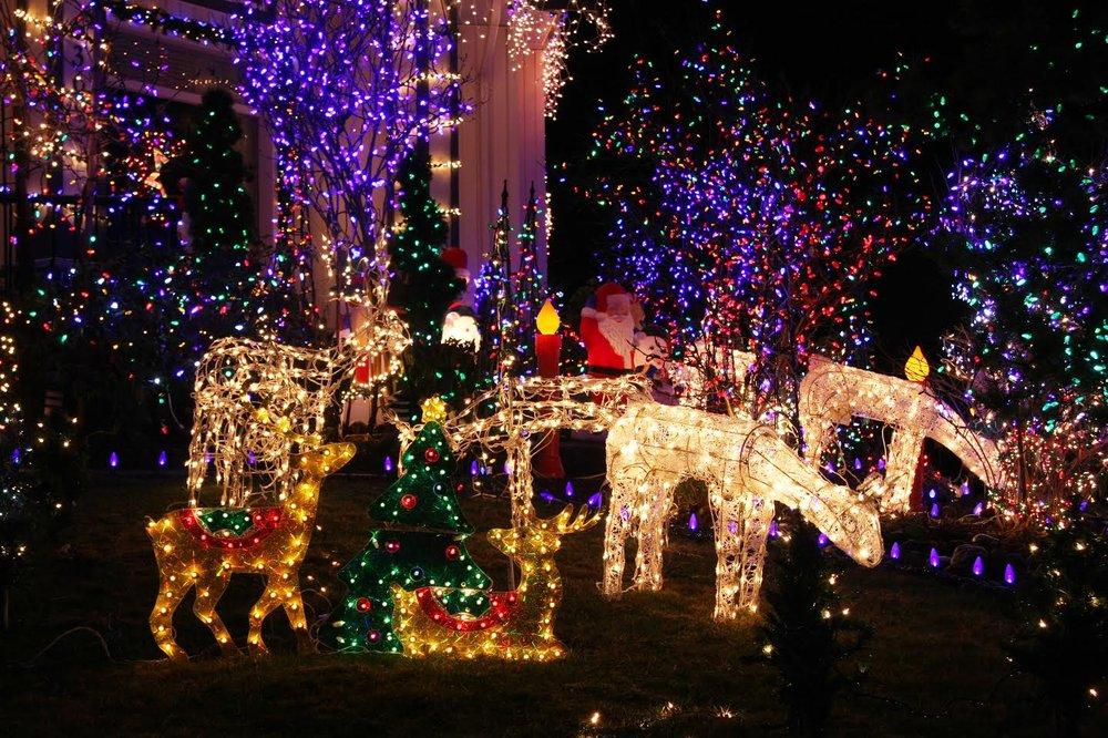 Christmas Light Fest at the Don Strange Ranch in Boerne, Tx ...