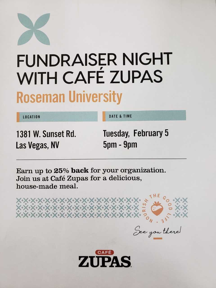 Fundraiser Night At Cafe Zupas Las Vegas Events Yelp