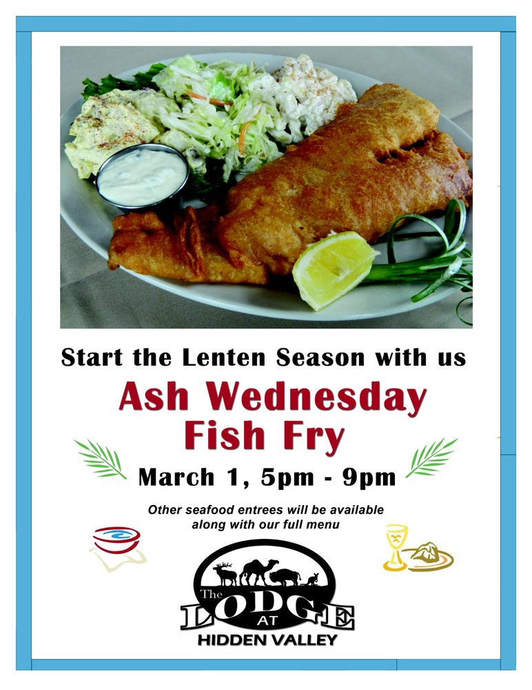 Ash wednesday fish fry varysburg events yelp for Fish fry near me
