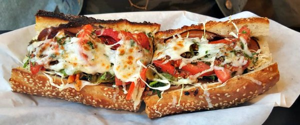 Shut Up And Eat's Italian Grinder